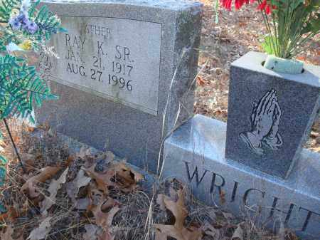 WRIGHT, SR, RAY K - Saline County, Arkansas | RAY K WRIGHT, SR - Arkansas Gravestone Photos