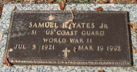 YATES, JR. (VETERAN WWII), SAMUEL R. - Saline County, Arkansas | SAMUEL R. YATES, JR. (VETERAN WWII) - Arkansas Gravestone Photos