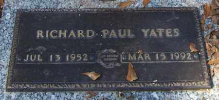 YATES, RICHARD PAUL - Saline County, Arkansas | RICHARD PAUL YATES - Arkansas Gravestone Photos