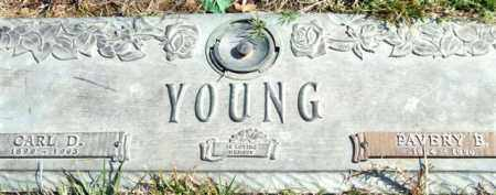 YOUNG, PAVERY B. - Saline County, Arkansas | PAVERY B. YOUNG - Arkansas Gravestone Photos