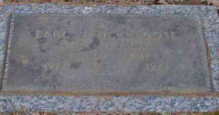 ZICKEFOOSE (VETERAN WWII), EARL W - Saline County, Arkansas | EARL W ZICKEFOOSE (VETERAN WWII) - Arkansas Gravestone Photos