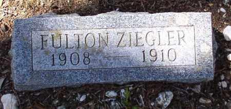 ZIEGLER, FULTON - Saline County, Arkansas | FULTON ZIEGLER - Arkansas Gravestone Photos