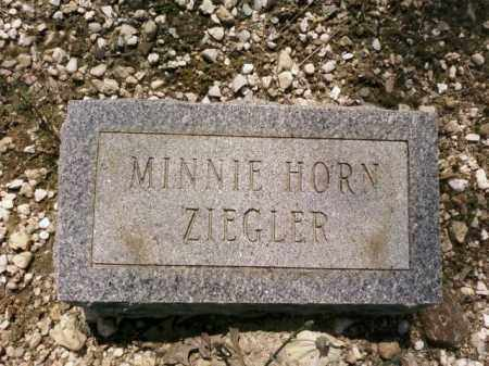 HORN ZIEGLER, MINNIE - Saline County, Arkansas | MINNIE HORN ZIEGLER - Arkansas Gravestone Photos