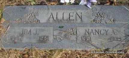 ALLEN, NANCY A - Scott County, Arkansas | NANCY A ALLEN - Arkansas Gravestone Photos