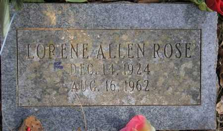 ROSE, LORENE - Scott County, Arkansas | LORENE ROSE - Arkansas Gravestone Photos