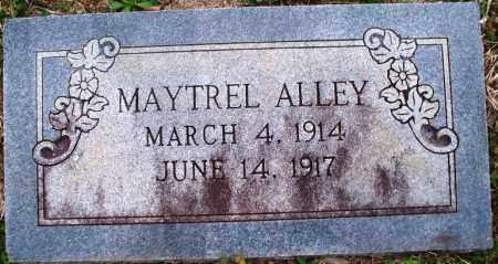 ALLEY, MAYTREL - Scott County, Arkansas | MAYTREL ALLEY - Arkansas Gravestone Photos