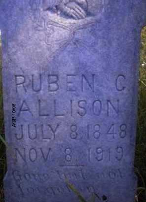 ALLISON, RUBEN C - Scott County, Arkansas | RUBEN C ALLISON - Arkansas Gravestone Photos