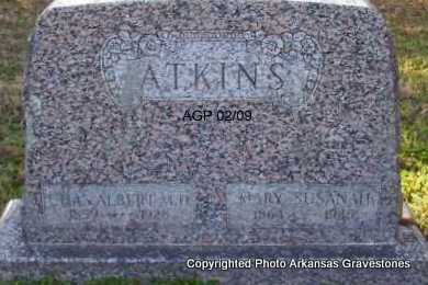 ATKINS, MARY SUSANAH - Scott County, Arkansas | MARY SUSANAH ATKINS - Arkansas Gravestone Photos