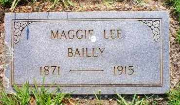 BAILEY, MAGGIE LEE - Scott County, Arkansas | MAGGIE LEE BAILEY - Arkansas Gravestone Photos