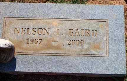 BAIRD, NELSON T - Scott County, Arkansas | NELSON T BAIRD - Arkansas Gravestone Photos