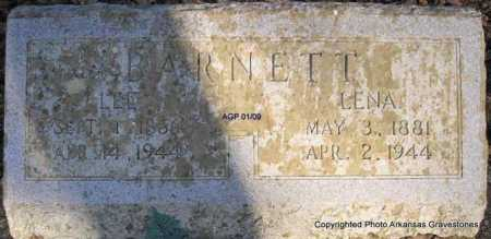 BARNETT, LEE - Scott County, Arkansas | LEE BARNETT - Arkansas Gravestone Photos