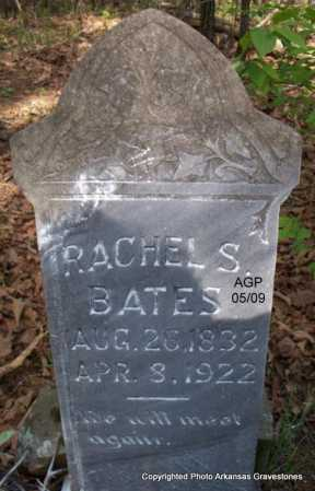 BATES, RACHEL S - Scott County, Arkansas | RACHEL S BATES - Arkansas Gravestone Photos
