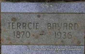 BAYARD, TERRCIE - Scott County, Arkansas | TERRCIE BAYARD - Arkansas Gravestone Photos