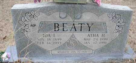 BEATY, IDA - Scott County, Arkansas | IDA BEATY - Arkansas Gravestone Photos