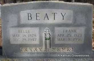 ANGEL BEATY, BELLE - Scott County, Arkansas | BELLE ANGEL BEATY - Arkansas Gravestone Photos