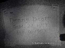 BEATY, DENNY - Scott County, Arkansas | DENNY BEATY - Arkansas Gravestone Photos