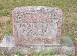 BEATY, DWAYNE - Scott County, Arkansas | DWAYNE BEATY - Arkansas Gravestone Photos