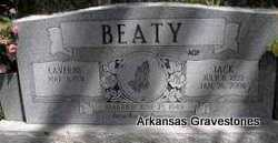 BEATY, JACK - Scott County, Arkansas | JACK BEATY - Arkansas Gravestone Photos