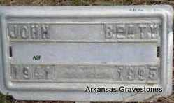 BEATY, JOHN - Scott County, Arkansas | JOHN BEATY - Arkansas Gravestone Photos