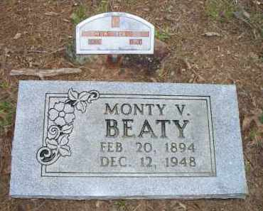 BEATY, MONTY V - Scott County, Arkansas | MONTY V BEATY - Arkansas Gravestone Photos
