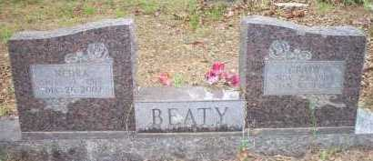 BEATY, NEDRA - Scott County, Arkansas | NEDRA BEATY - Arkansas Gravestone Photos