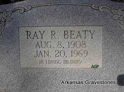 BEATY, RAY R - Scott County, Arkansas | RAY R BEATY - Arkansas Gravestone Photos