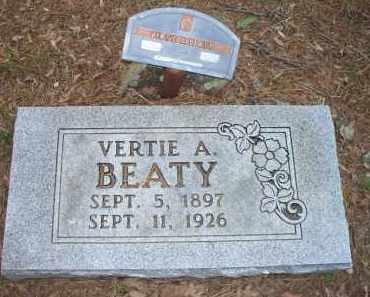 BEATY, VERTIE A - Scott County, Arkansas | VERTIE A BEATY - Arkansas Gravestone Photos