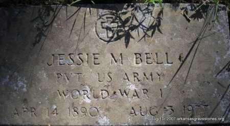 BELL  (VETERAN WWI), JESSIE M - Scott County, Arkansas | JESSIE M BELL  (VETERAN WWI) - Arkansas Gravestone Photos