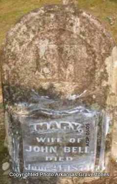 BELL, MARY - Scott County, Arkansas | MARY BELL - Arkansas Gravestone Photos
