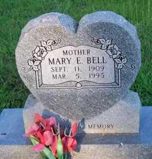 BELL, MARY E - Scott County, Arkansas | MARY E BELL - Arkansas Gravestone Photos