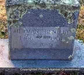 BENTLEY, HERMAN - Scott County, Arkansas | HERMAN BENTLEY - Arkansas Gravestone Photos