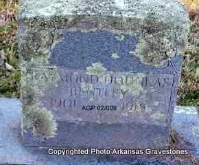 BENTLEY, RAYMOND DOUGLAS - Scott County, Arkansas | RAYMOND DOUGLAS BENTLEY - Arkansas Gravestone Photos