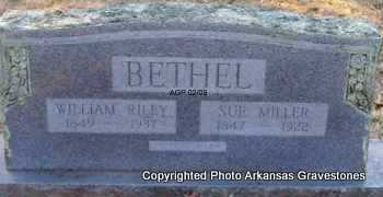 MILLER BETHEL, SUE - Scott County, Arkansas | SUE MILLER BETHEL - Arkansas Gravestone Photos