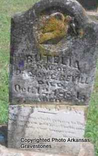 BEVILL, RUTELIA - Scott County, Arkansas | RUTELIA BEVILL - Arkansas Gravestone Photos