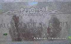 BILBO, ALONZO RILEY - Scott County, Arkansas | ALONZO RILEY BILBO - Arkansas Gravestone Photos