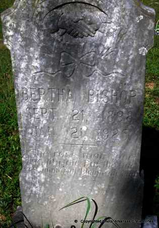 BISHOP, BERTHA - Scott County, Arkansas | BERTHA BISHOP - Arkansas Gravestone Photos