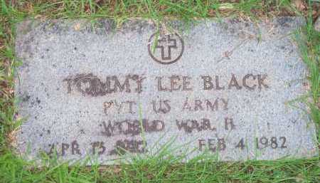 BLACK  (VETERAN WWII), TOMMY LEE - Scott County, Arkansas | TOMMY LEE BLACK  (VETERAN WWII) - Arkansas Gravestone Photos