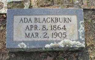 BLACKBURN, ADA - Scott County, Arkansas | ADA BLACKBURN - Arkansas Gravestone Photos