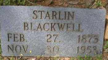 BLACKWELL, STARLIN - Scott County, Arkansas | STARLIN BLACKWELL - Arkansas Gravestone Photos