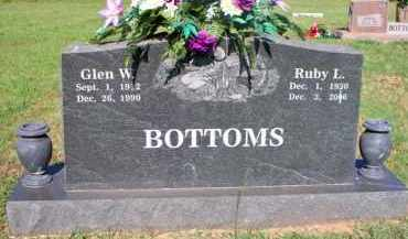 BOTTOMS, RUBY L - Scott County, Arkansas | RUBY L BOTTOMS - Arkansas Gravestone Photos