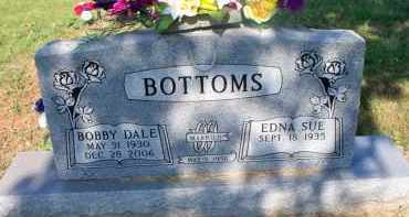 BOTTOMS, BOBBY DALE - Scott County, Arkansas | BOBBY DALE BOTTOMS - Arkansas Gravestone Photos