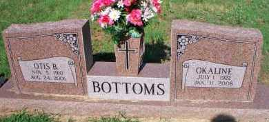 BOTTOMS, OKALINE - Scott County, Arkansas | OKALINE BOTTOMS - Arkansas Gravestone Photos