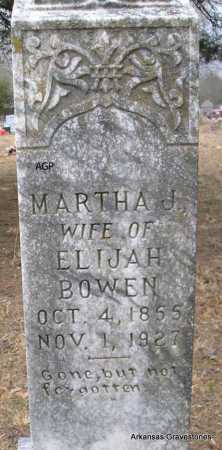 BOWEN, MARTHA J - Scott County, Arkansas | MARTHA J BOWEN - Arkansas Gravestone Photos