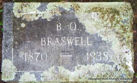 BRASSWELL, B O - Scott County, Arkansas | B O BRASSWELL - Arkansas Gravestone Photos