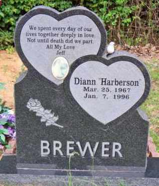 HARBERSON BREWER, DIANN - Scott County, Arkansas | DIANN HARBERSON BREWER - Arkansas Gravestone Photos