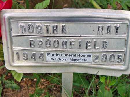 BROOMFIELD, DORTHA MAY - Scott County, Arkansas | DORTHA MAY BROOMFIELD - Arkansas Gravestone Photos