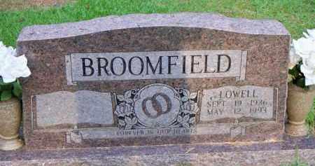 BROOMFIELD, LOWELL - Scott County, Arkansas | LOWELL BROOMFIELD - Arkansas Gravestone Photos