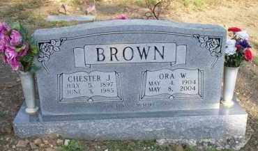 BROWN, CHESTER J - Scott County, Arkansas | CHESTER J BROWN - Arkansas Gravestone Photos