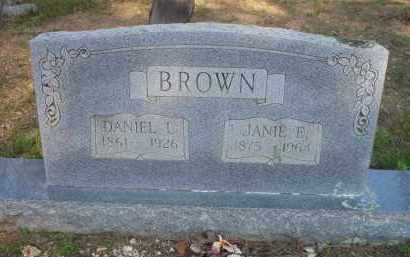 BROWN, JANIE E - Scott County, Arkansas | JANIE E BROWN - Arkansas Gravestone Photos