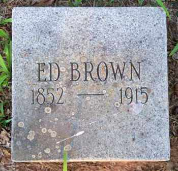 BROWN, ED - Scott County, Arkansas | ED BROWN - Arkansas Gravestone Photos